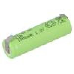 Akum: Ni-MH AA 1,2V 1800mAh Výv: pájecí očka Ø14,2x50mm