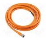Připojovací kabel M8 PIN:4 přímý 2m zástrčka 60VAC 4A 75VDC