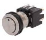 Přepínač: odolný vandalům Polohy:2 DPST-NO 12A/250VAC IP64