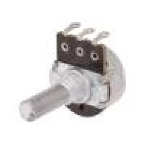 Potenciometr: axiální 5kΩ 200mW ±20% pájení 6mm očka uhlíkový