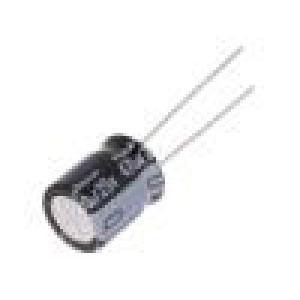 Kondenzátor elektrolytický THT 470uF 25VDC Ø10x12,5mm ±20%