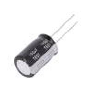Kondenzátor elektrolytický THT 100uF 160VDC Ø16x25mm ±20%