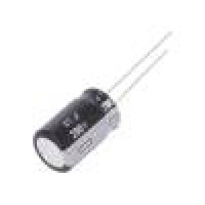 Kondenzátor elektrolytický THT 47uF 200VDC Ø12,5x20mm ±20%