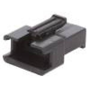 Zástrčka vodič-vodič vidlice PIN:4 bez kontaktů 2,5mm SM