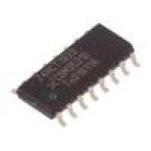 74HCT193D.652 IC: číslicový 4bit, binární čítač nahoru/dolů Řada: HCT SMD