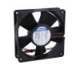 Ventilátor: DC axiální 119x119x32mm 170m3/h 45dBA kuličkové