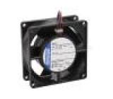 Ventilátor: DC axiální 80x80x32mm 54m3/h 36dBA kuličkové