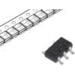 74LVC2G14GV.125 IC: číslicový Schmittův klopný obvod Kanály:2 SMD TSOP6