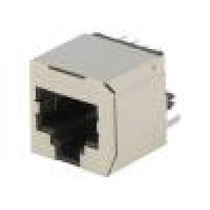 Zásuvka RJ45 PIN:8 Kat:5 stíněný Uspořádání výv:8p8c THT