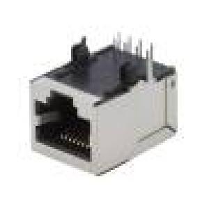 Zásuvka RJ45 PIN:8 Kat:5e stíněný Uspořádání výv:8p8c THT
