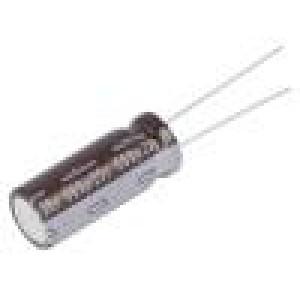 Kondenzátor elektrolytický s nízkou impedancí THT 560uF ±20%