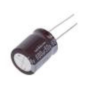 Kondenzátor elektrolytický s nízkou impedancí THT 680uF ±20%