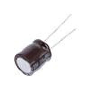 Kondenzátor elektrolytický s nízkou impedancí THT 270uF ±20%