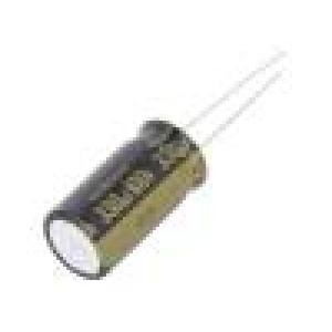 Kondenzátor elektrolytický THT 330uF 100VDC Ø12,5x25mm ±20%