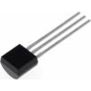 BC212A-CDI Tranzistor: PNP bipolární 50V 100mA 350/1W TO92 10dB