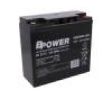 Re-battery: acid-lead 12V 22Ah maintenance-free AGM 116W