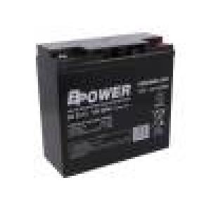 Re-battery: acid-lead 12V 22Ah maintenance-free AGM 116W