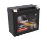 Re-battery: acid-lead 12V 18Ah maintenance-free, right + AGM