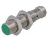Čidlo: indukční Konf.výstupu: PNP / NO 0÷4mm 10÷30VDC M12 IP67