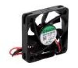 Ventilátor: DC axiální 12VDC 50x50x10mm 18,59m3/h 25,6dBA