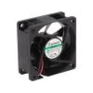 Ventilátor: DC axiální 12VDC 60x50x25mm 23,32m3/h 10,7dBA