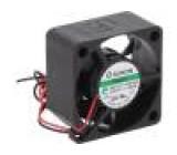 Ventilátor: DC axiální 12VDC 30x30x15mm 10,14m3/h 27dBA Vapo