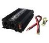 Měnič: automobilový dc/ac 1700W Uvýst:230VAC 21÷31VDC 92%