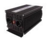 Měnič: automobilový dc/ac 2500W Uvýst:230VAC 10,5÷15,5VDC
