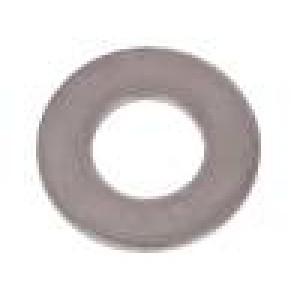 Podložka kulatá M3 D=7mm h=0,5mm kyselinovzdorná ocel A4