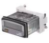 Počitadlo: elektronický provozní hodiny Zobrazovač: LCD IP20