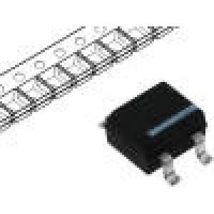 Jednofázový usměrňovací můstek Urmax:100V If:1A Ifsm:35A MBS