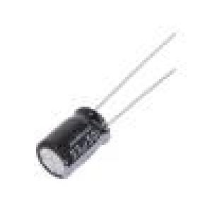 Kondenzátor elektrolytický THT 33uF 50VDC Ø8x11,5mm ±20%