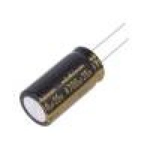 Kondenzátor elektrolytický THT 4700uF 35VDC Ø18x35,5mm ±20%