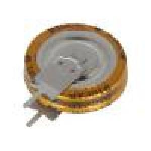 Kondenzátor elektrolytický záložní, superkondenzátor THT 1F