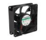 Ventilátor: DC axiální 24VDC 80x80x25mm 101,4m3/h 44,7dBA