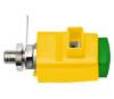SDK801-GNGE Přístrojová svorka žluto-zelená 300VDC 16A Izolace: polyamid