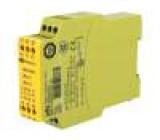 774300 Modul: bezpečnostní relé Řada: PNOZ X1 24VDC 24VAC Vstupy:1