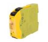 PZ-750104 Modul: bezpečnostní relé Řada: PNOZ s4 Vstupy:3 Výstupy:5 IP40