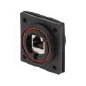 Spojka Buccaneer Ethernet PIN:8 Kontakty: fosforový bronz