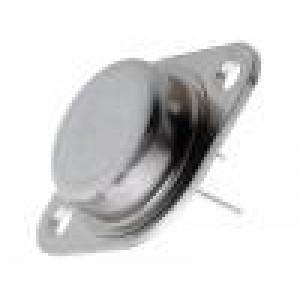 NTE243 Tranzistor: NPN bipolární Darlington 80V 8A 100W TO3