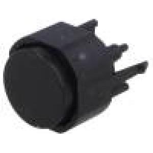 K12PBK25N Přepínač: klávesnicový Polohy:2 SPST-NO 0,1A/30VDC Podsv: není