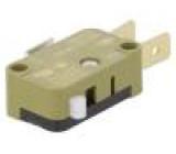 Mikrospínač SNAP ACTION SPDT 16A/250VAC ON-(ON) pol: 2