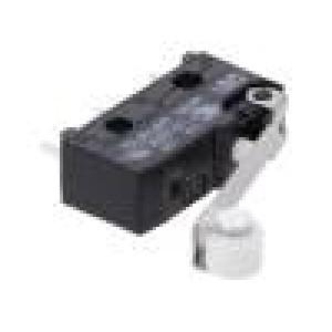 Mikrospínač SNAP ACTION s kladkou SPDT 6A/250VAC 0,1A/80VDC