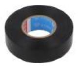 Izolační páska PVC 19mm L:20m černá Řada výr: tesaflex® 53988