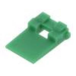 Zajišťovací západka ML-XT vidlice PIN:2 zelená