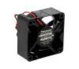 Ventilátor: DC axiální 12VDC 60x60x25mm 45m3/h 36,5dBA