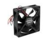Ventilátor: DC axiální 12VDC 92x92x25mm 58,8m3/h 22dBA