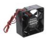 Ventilátor: DC axiální 24VDC 60x60x25mm 26,4m3/h 22,5dBA