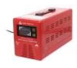 Měnič: dc/ac 350W Uvýst:230VAC 350x140x180mm Pšpič:600W 97%