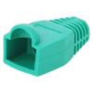 Krytka vidlice RJ45 6,5mm Barva: zelená